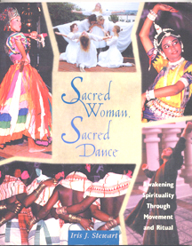 SACRED WOMAN SACRED DANCE BOOK COVER